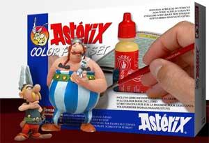 Set de Pintura: Asterix y Obelix.  (Vista 1)