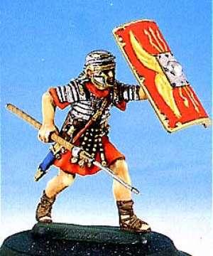 Soldado romano en batalla (II) - Ref.: ANDR-RA008