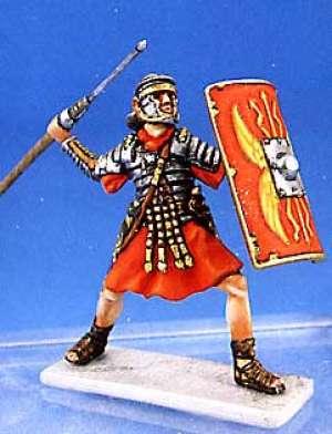 Soldado romano lanzando Pilum - Ref.: ANDR-RA009