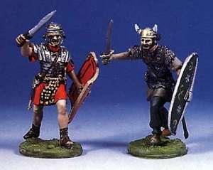 Soldado romano y bárbaro luchando(I) - Ref.: ANDR-RA013
