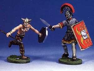 Soldado romano y bárbaro luchando(III) - Ref.: ANDR-RA016
