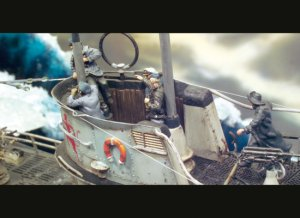 Tripulación Submarino Alemán  (Vista 2)