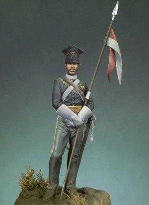 Lancero del 17º Regimiento Crimea 1854  (Vista 1)