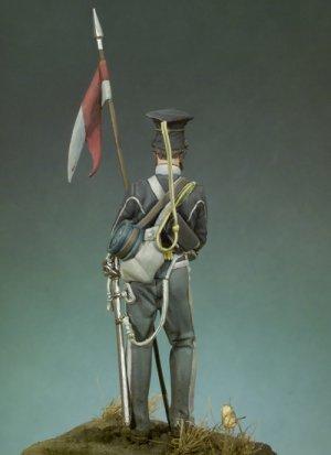 Lancero del 17º Regimiento Crimea 1854  (Vista 3)