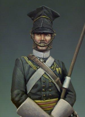 Lancero del 17º Regimiento Crimea 1854  (Vista 4)