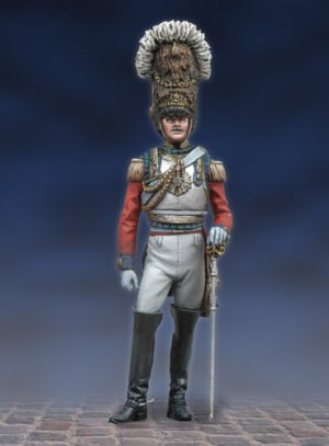 Colonel 2nd Life Guards, 1824  (Vista 1)