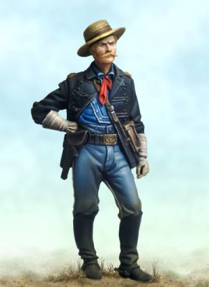 US Cavalry Captain  (Vista 1)
