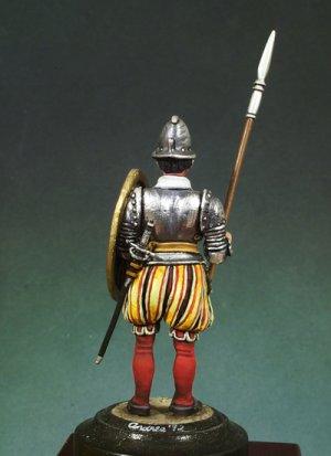 Piquero de Infantería  (Vista 4)