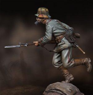 Infanteria alemana cargando.  (Vista 2)