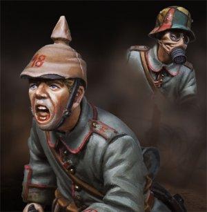 Infanteria alemana cargando.  (Vista 4)