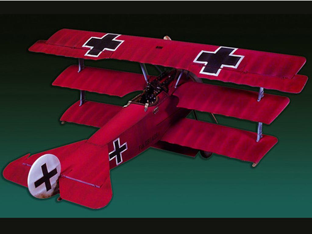 Fokker DR.1(1918)  (Vista 1)