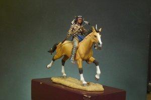 Guerrero Sioux portando carabina  (Vista 1)