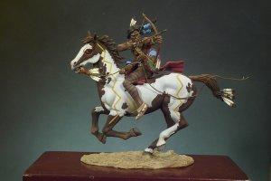 Guerrero Sioux con arco  (Vista 1)
