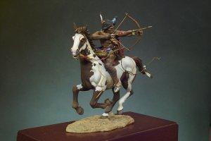 Guerrero Sioux con arco  (Vista 2)
