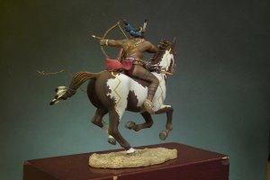 Guerrero Sioux con arco  (Vista 3)