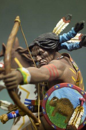 Guerrero Sioux con arco  (Vista 4)