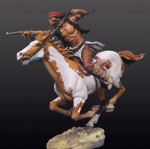 Apache a caballo - Ref.: ANDR-S4F033