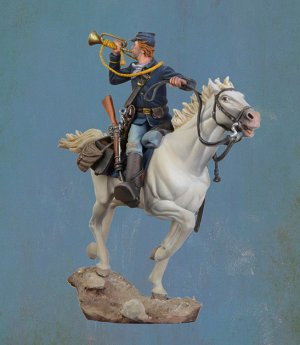 U.S. Cavalry Bugler, 1876  (Vista 2)