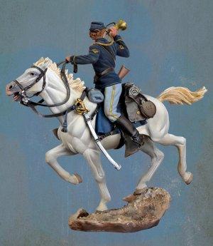 U.S. Cavalry Bugler, 1876  (Vista 3)