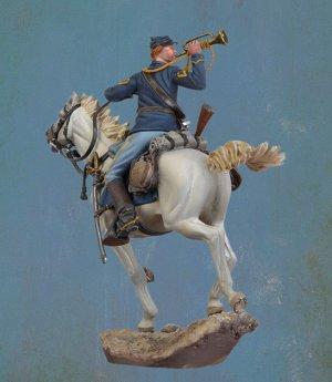 U.S. Cavalry Bugler, 1876  (Vista 4)
