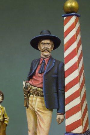 Pistolero y niÑo  (Vista 3)