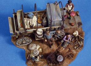 Vagón de Cocina 1880's  (Vista 1)