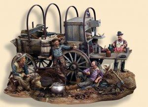 Vagón de Cocina 1880's  (Vista 2)