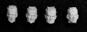 Cabezas Alemanas con gorra  (Vista 1)