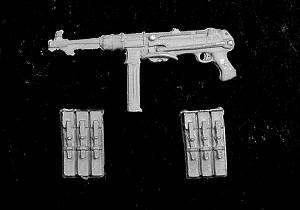 Schmeiser MP40 y cartucheras  (Vista 1)