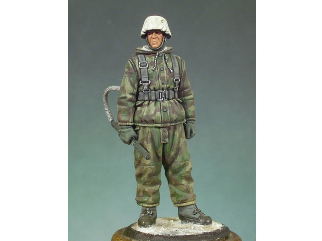 Soldado Alemán con lanzallamas  (Vista 1)