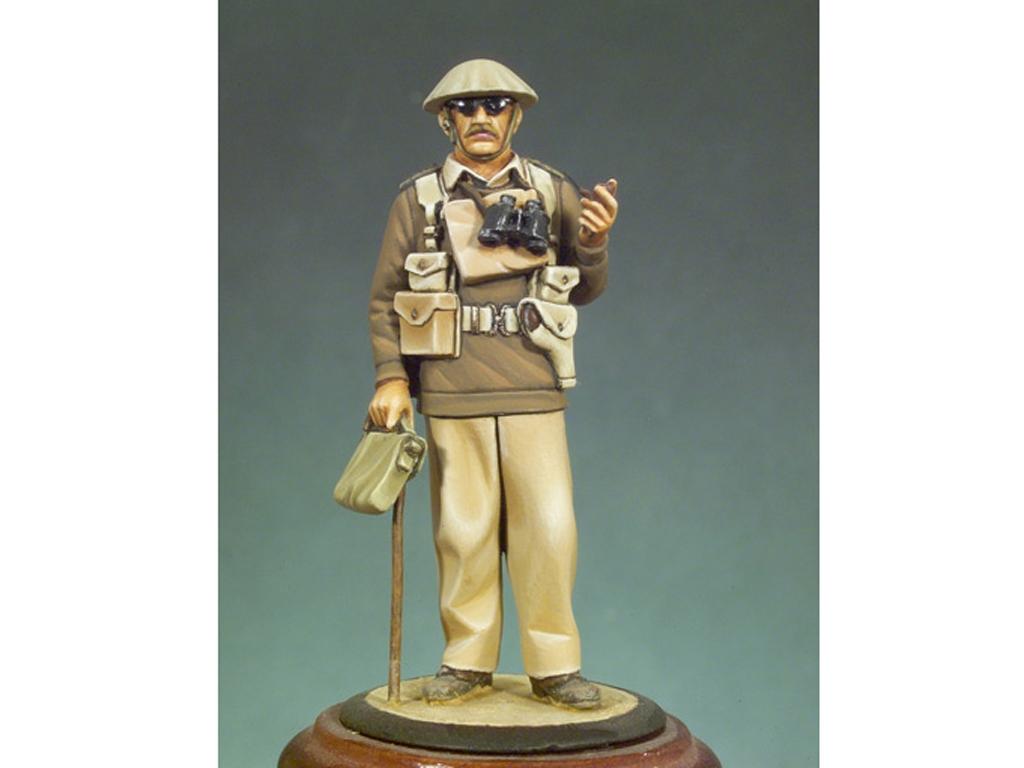 Capitán Inglés. Libia, 1940  (Vista 1)