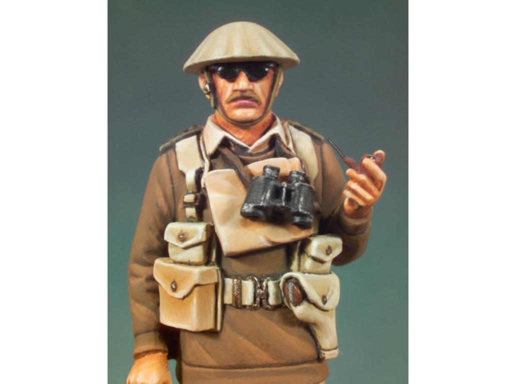 Capitán Inglés. Libia, 1940  (Vista 4)