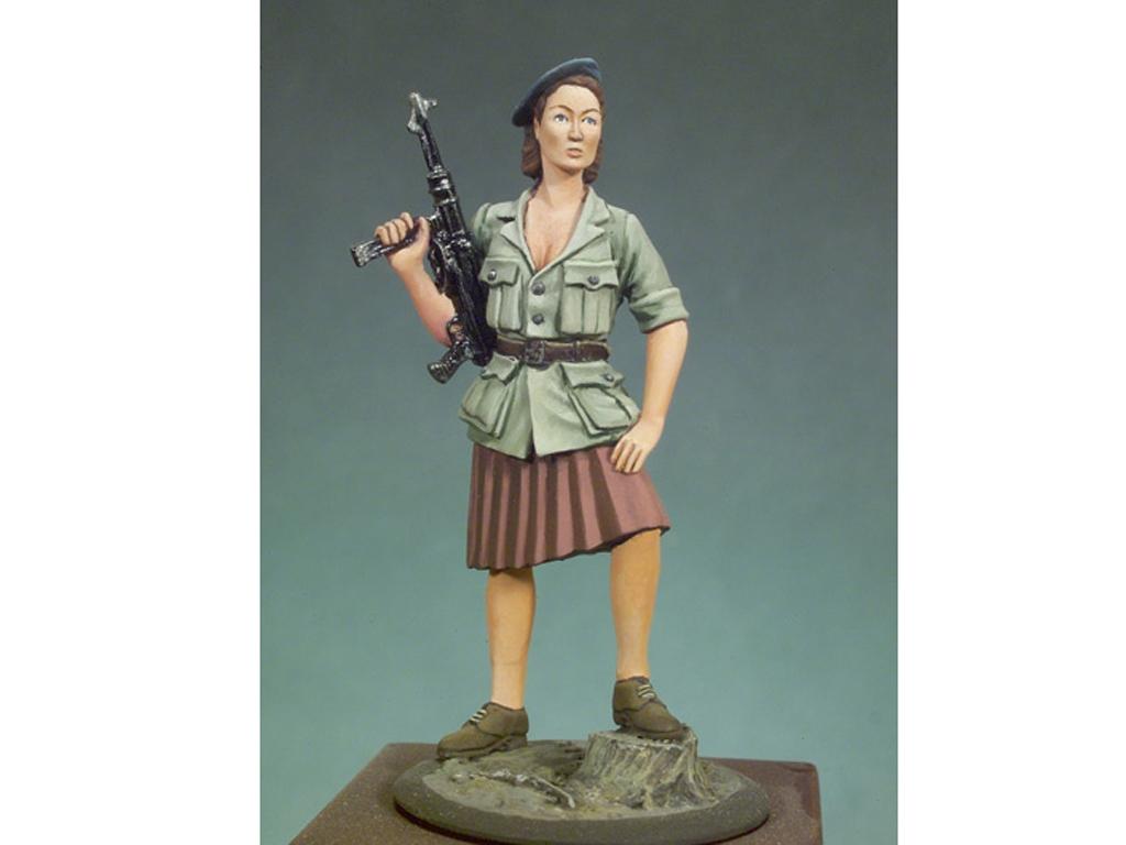 Mujer resistencia Francesa 1944  (Vista 1)