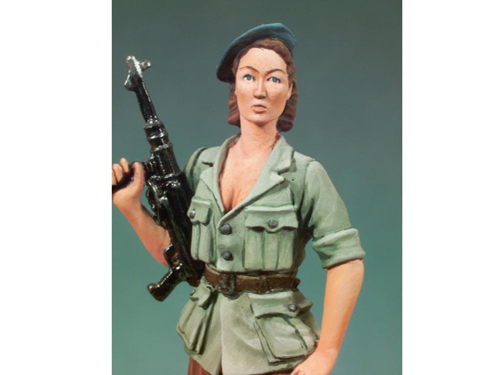 Mujer resistencia Francesa 1944  (Vista 4)