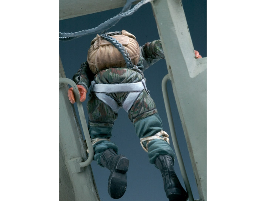 Paracaidista Aleman 2ªG.M.  (Vista 3)