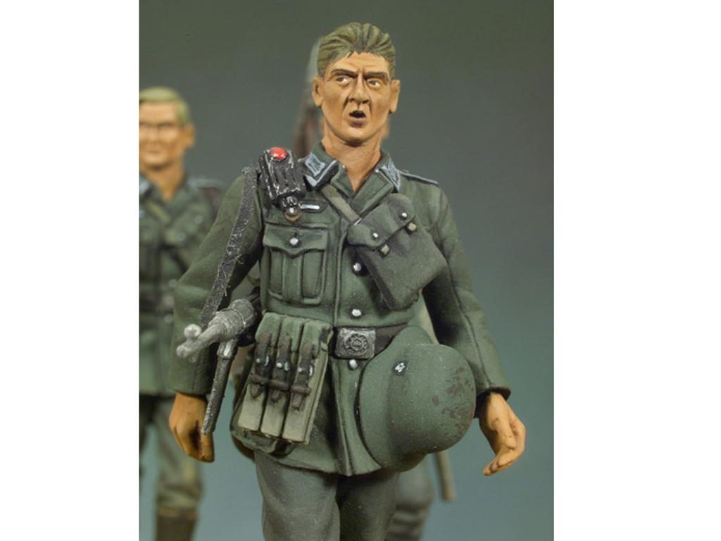 Infantería Alemana andando I  (Vista 4)