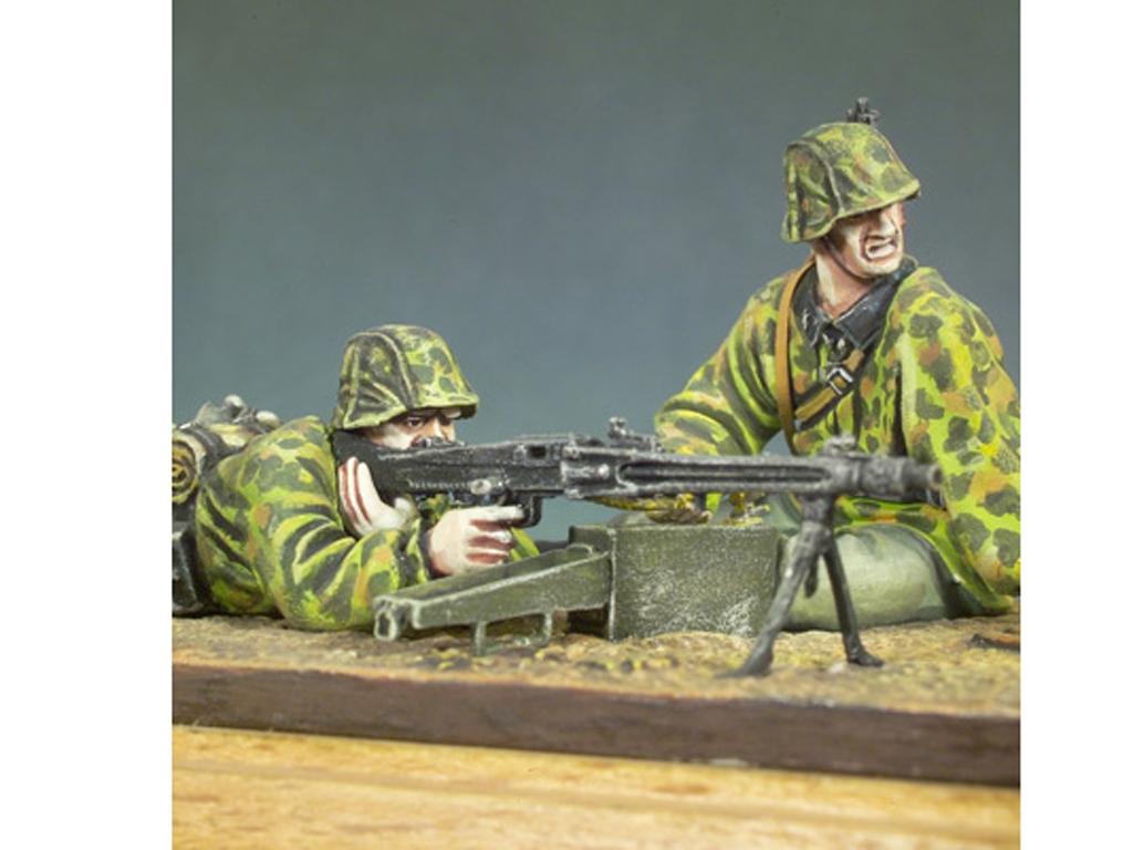 Ametralladores MG-42. Waffen SS  (Vista 3)