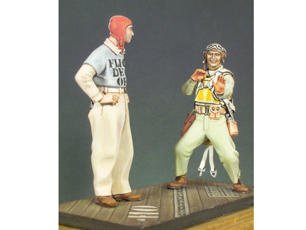 Piloto marines y oficial cubierta  (Vista 1)