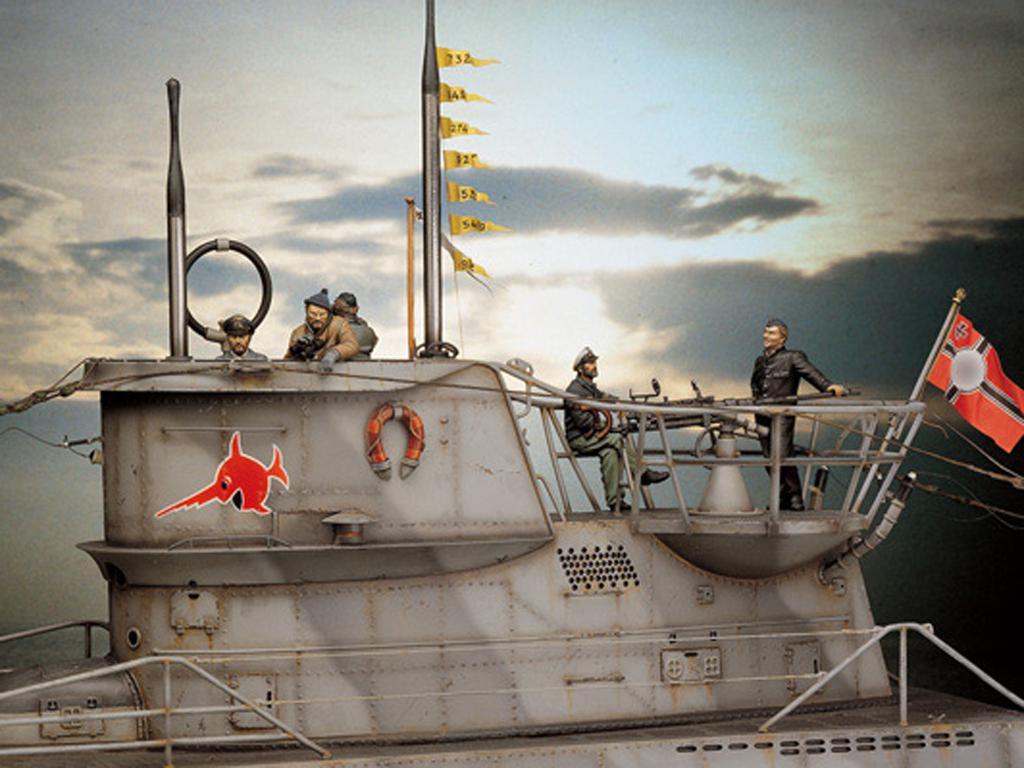 U-Boat VII C. Lobo de los mares  (Vista 1)