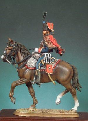 Husar francés 1813  (Vista 2)