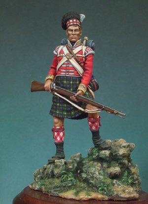 92º Gordon Highlanders, 1815  (Vista 1)