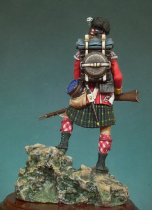 92º Gordon Highlanders, 1815  (Vista 2)