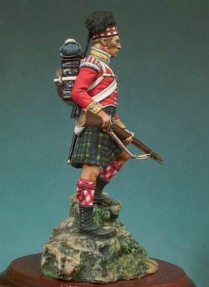 92º Gordon Highlanders, 1815  (Vista 3)