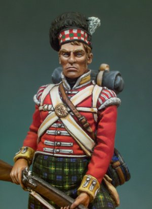 92º Gordon Highlanders, 1815  (Vista 4)