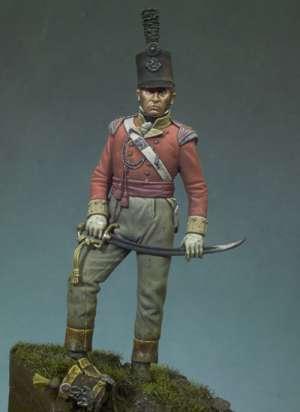 Oficial Británico, 1815  (Vista 1)
