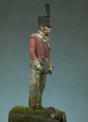 Oficial Británico, 1815  (Vista 2)
