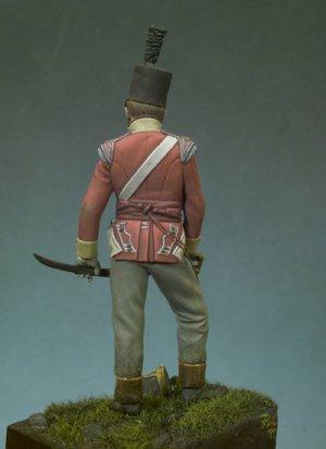 Oficial Británico, 1815  (Vista 3)