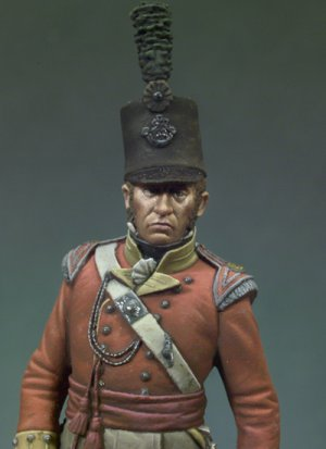 Oficial Británico, 1815  (Vista 4)