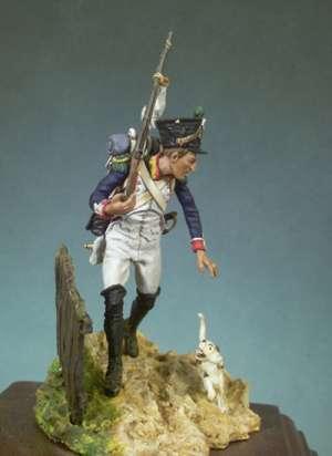 Infante Francés 3º de Línea, 1809  (Vista 1)