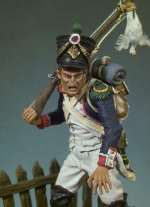 Infante Francés 3º de Línea, 1809  (Vista 4)